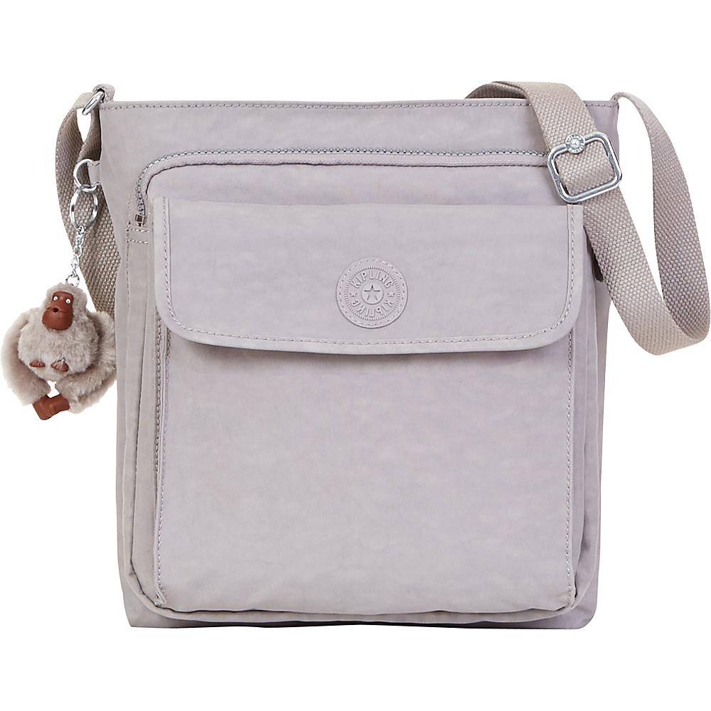 Kipling Machida Crossbody Bag Slate Grey Kipling Fabric Handbags