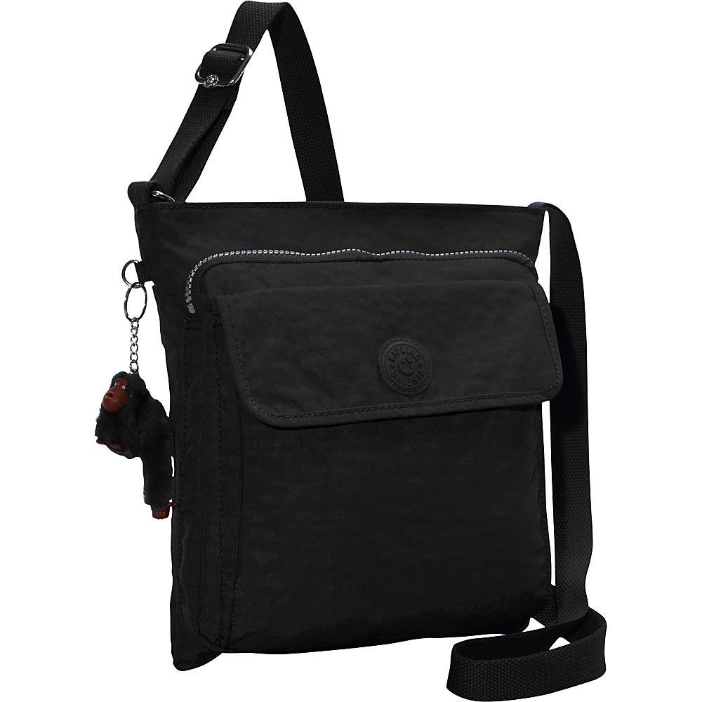 Kipling Machida Crossbody Bag Black - Kipling Fabric Handbags