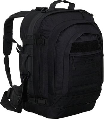 soc gear bugout bag 600 denier poly canvas black