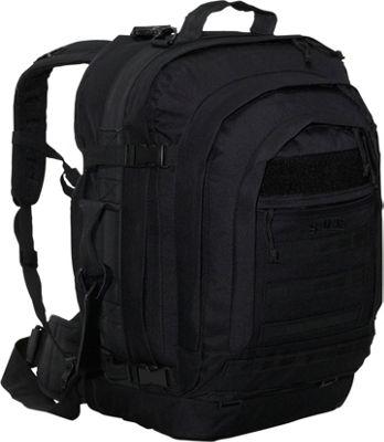 SOC Gear Bugout Bag -  600 Denier Poly-Canvas Black - SOC Gear Travel Backpacks