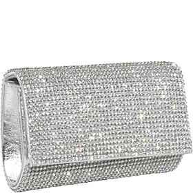 Crystal Clutch Silver