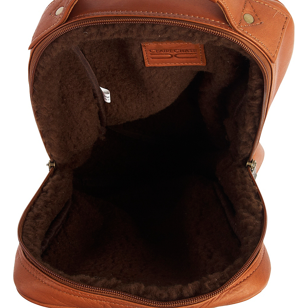 ClaireChase Upright Golf Shoe Bag - Cafe