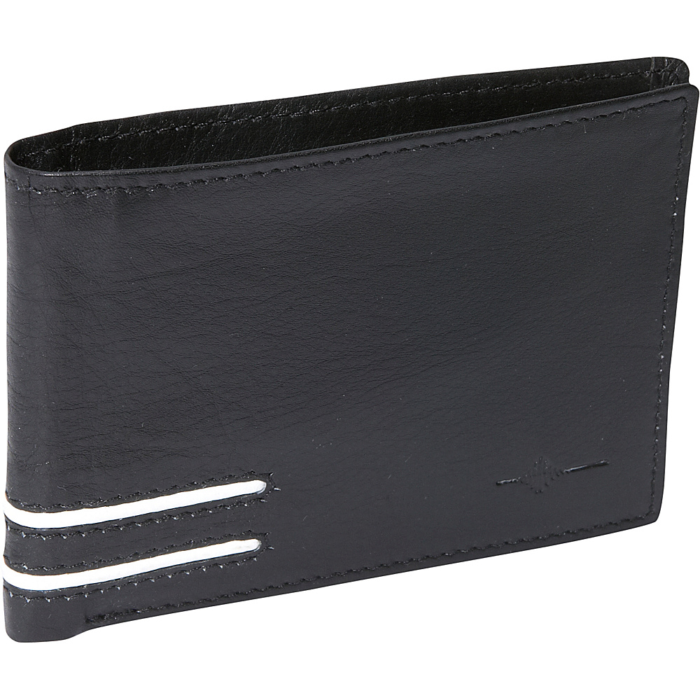 Buxton Luciano Front Pocket Slimfold - RFID - Black - Work Bags & Briefcases, Men's Wallets