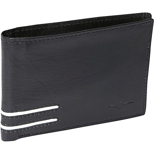 Buxton Luciano Front Pocket Slimfold - RFID - Black