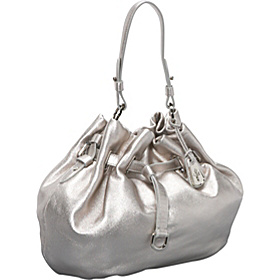 Cornelia Belted Ellie Large Drawstring Platinum