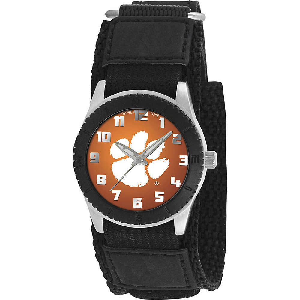 Game Time Rookie Black College Clemson Tigers Black Game Time Watches