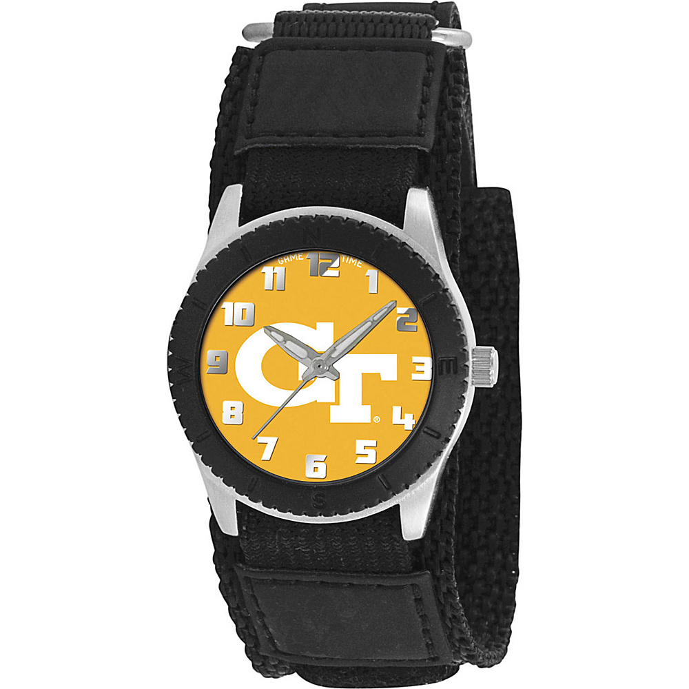 Game Time Rookie Black College Georgia Tech Yellow Jackets Black Game Time Watches