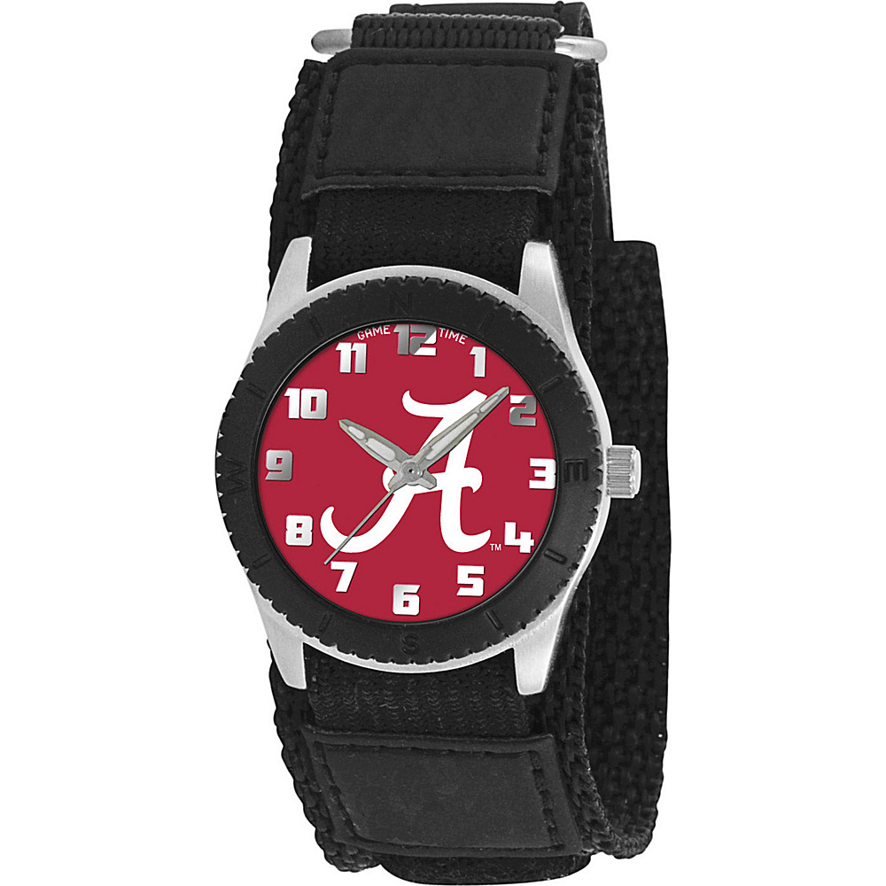 Game Time Rookie Black College Alabama Crimson Tide Black Game Time Watches