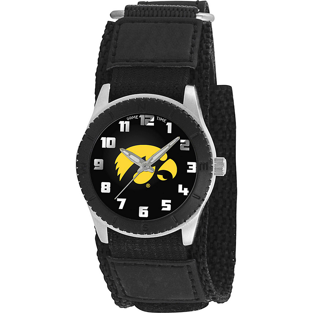 Game Time Rookie Black College Iowa Hawkeyes Black Game Time Watches