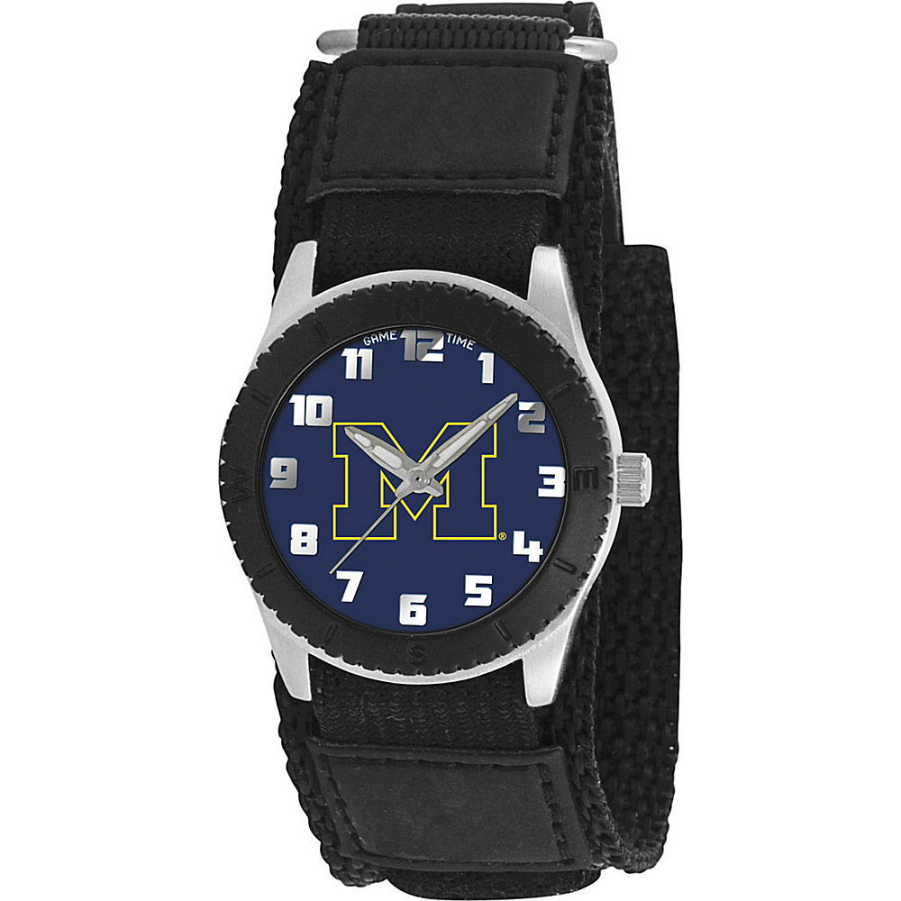 Game Time Rookie Black College Michigan Wolverines Black Game Time Watches