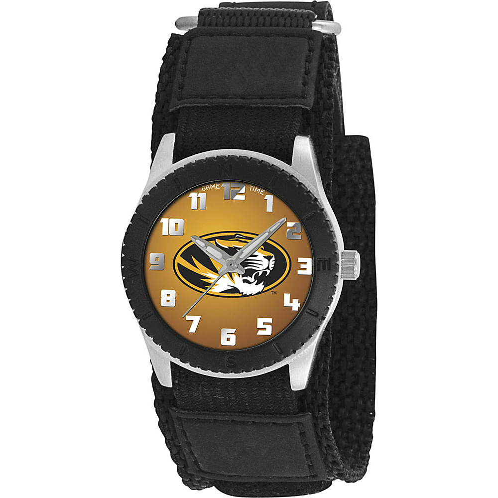 Game Time Rookie Black College Missouri Tigers Black Game Time Watches