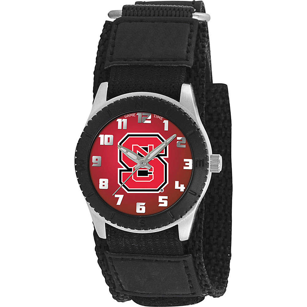 Game Time Rookie Black College North Carolina State Wolfpack Black Game Time Watches