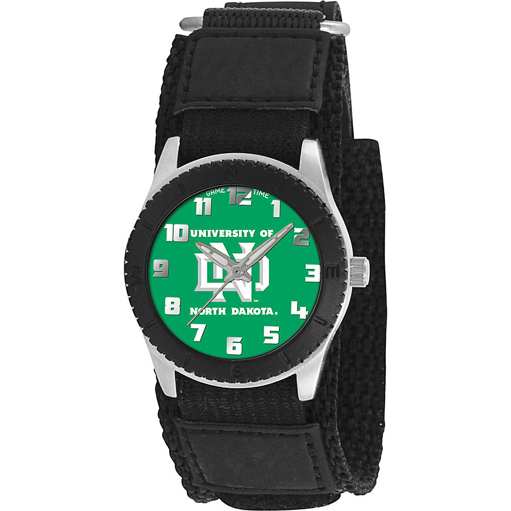 Game Time Rookie Black - College North Dakota Fighting Sioux Black - Game Time Watches