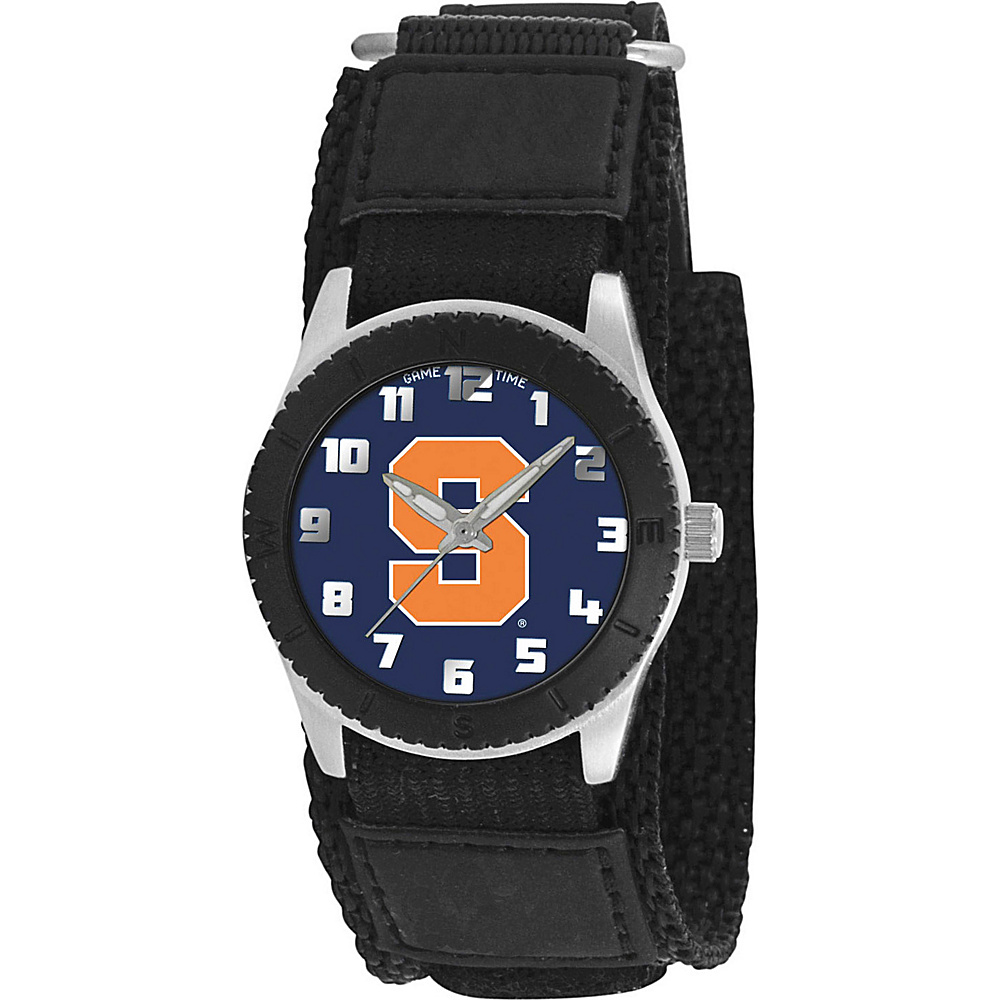 Game Time Rookie Black College Syracuse Orangemen Black Game Time Watches