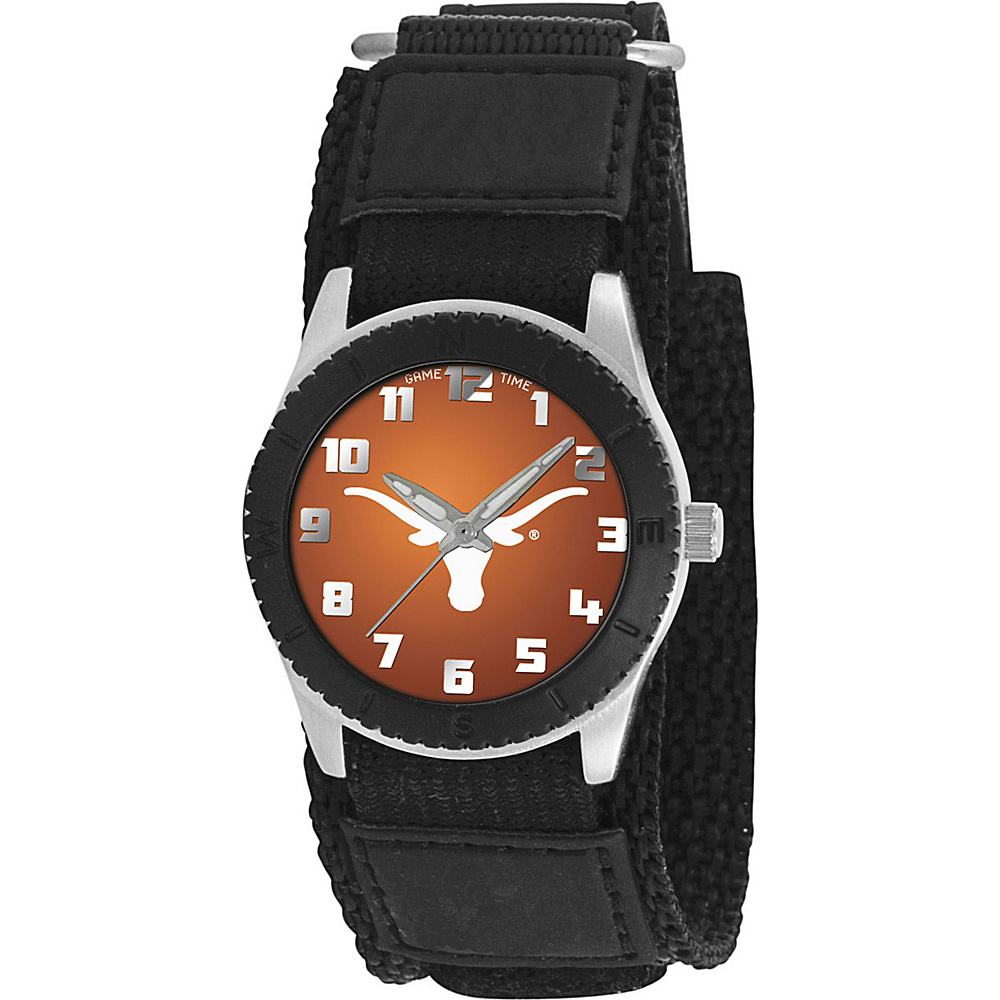 Game Time Rookie Black College Texas Longhorns Black Game Time Watches