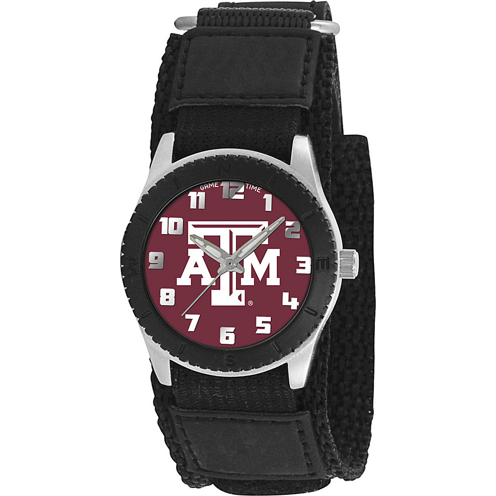 Game Time Rookie Black College Texas A amp;m Aggies Black Game Time Watches