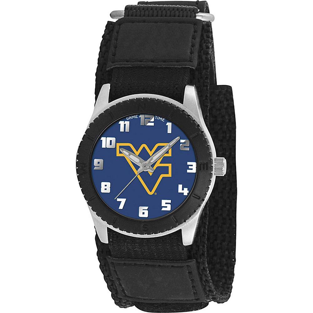 Game Time Rookie Black College West Virginia Mountaineers Black Game Time Watches