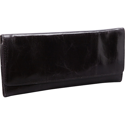 Hobo Sadie Wallet Black - Hobo Leather Handbags
