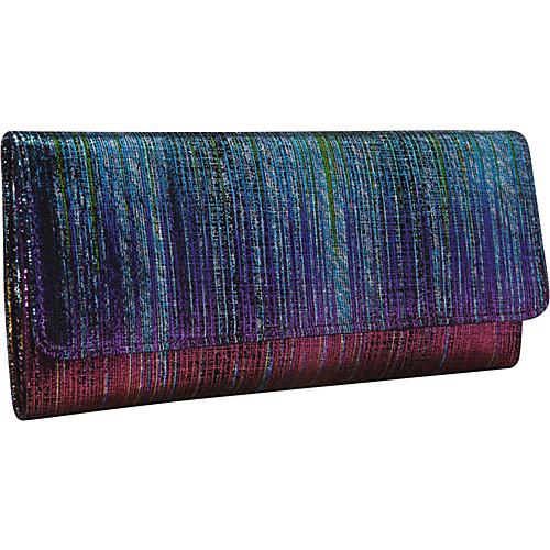 Hobo Sadie Wallet Iridescent Stripe - Hobo Ladies Clutch Wallets