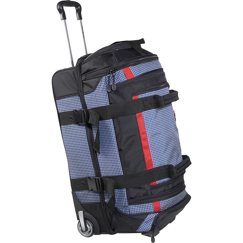 Samsonite Ripstop 26 Wheeled Duffel - Blue - Luggage, Softside Checked