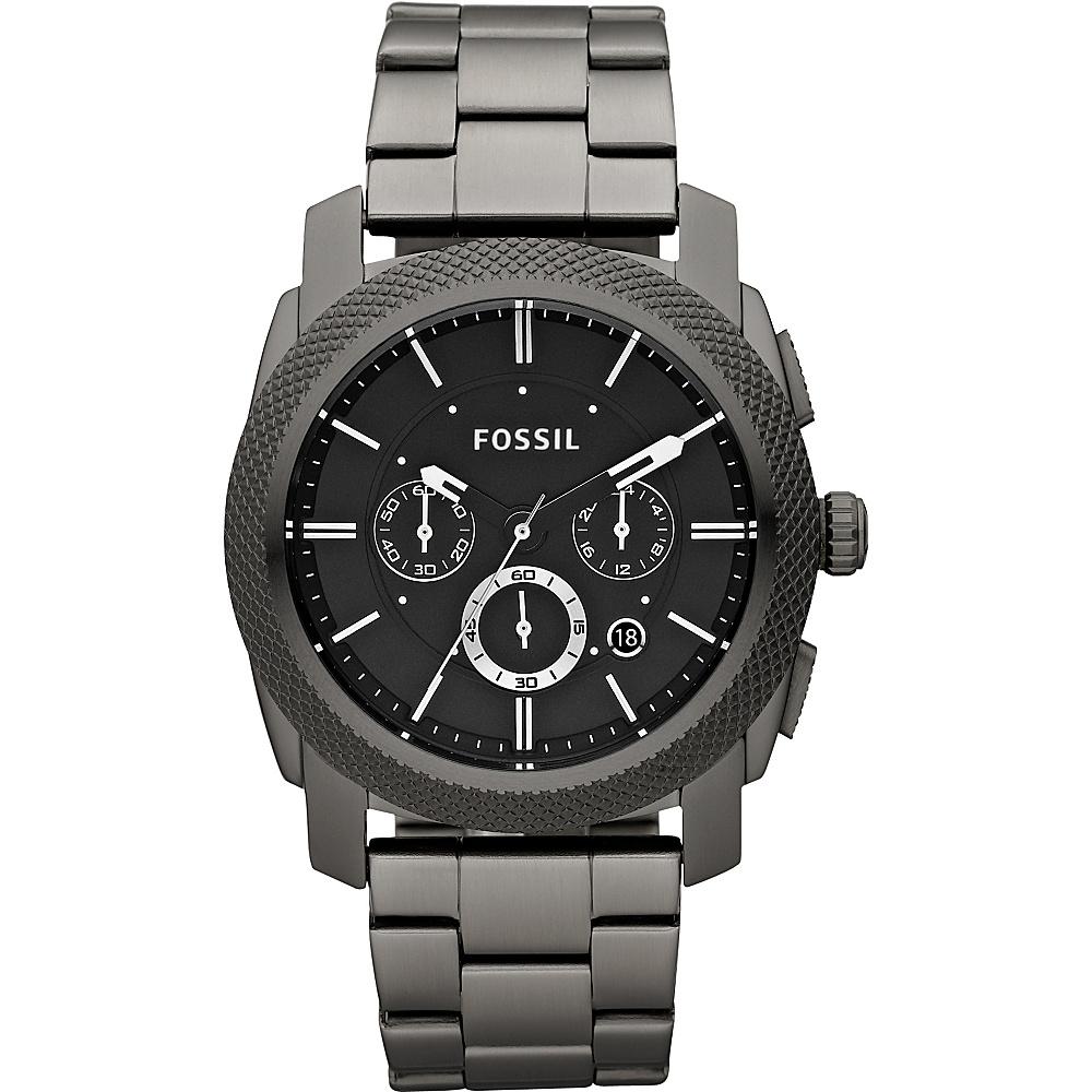 Fossil Machine - Gunmetal - Fashion Accessories, Watches