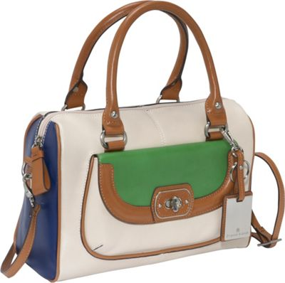 Etienne Aigner Valencia Color Block Satchel