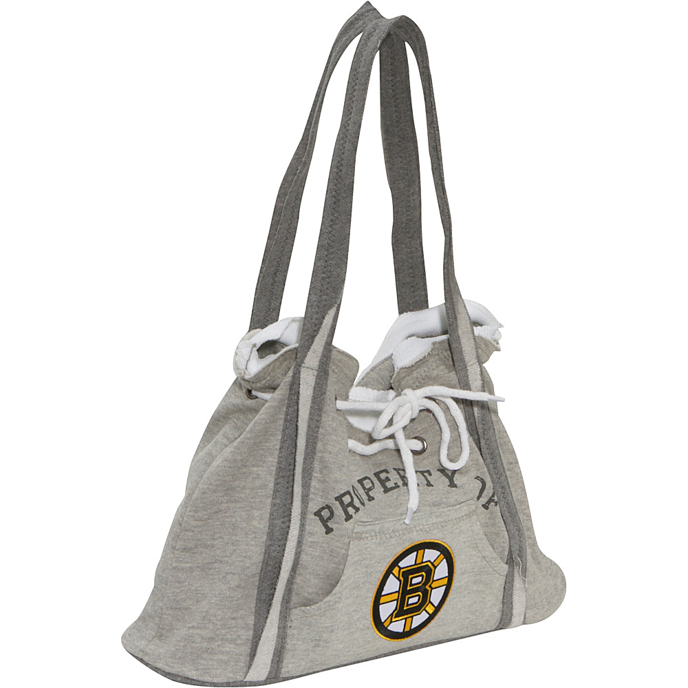 Littlearth NHL Hoodie Purse Grey/Boston Bruins Boston Bruins - Littlearth Fabric Handbags - Handbags, Fabric Handbags