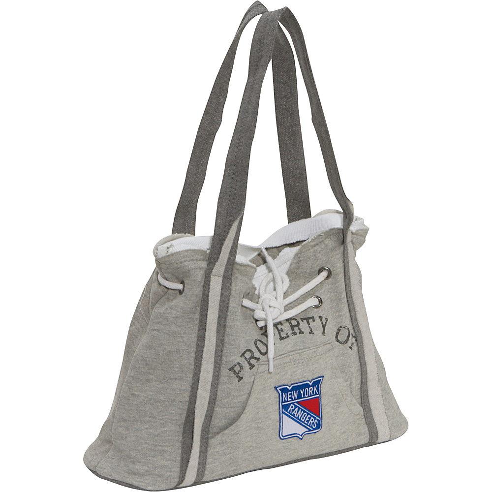 Littlearth NHL Hoodie Purse Grey/New York Rangers New York Rangers - Littlearth Fabric Handbags - Handbags, Fabric Handbags