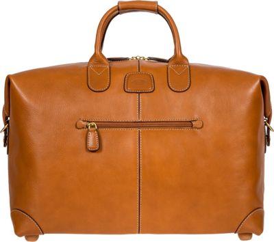 BRIC'S Life Pelle 18 inch Cargo Duffle Cognac - BRIC'S Travel Duffels
