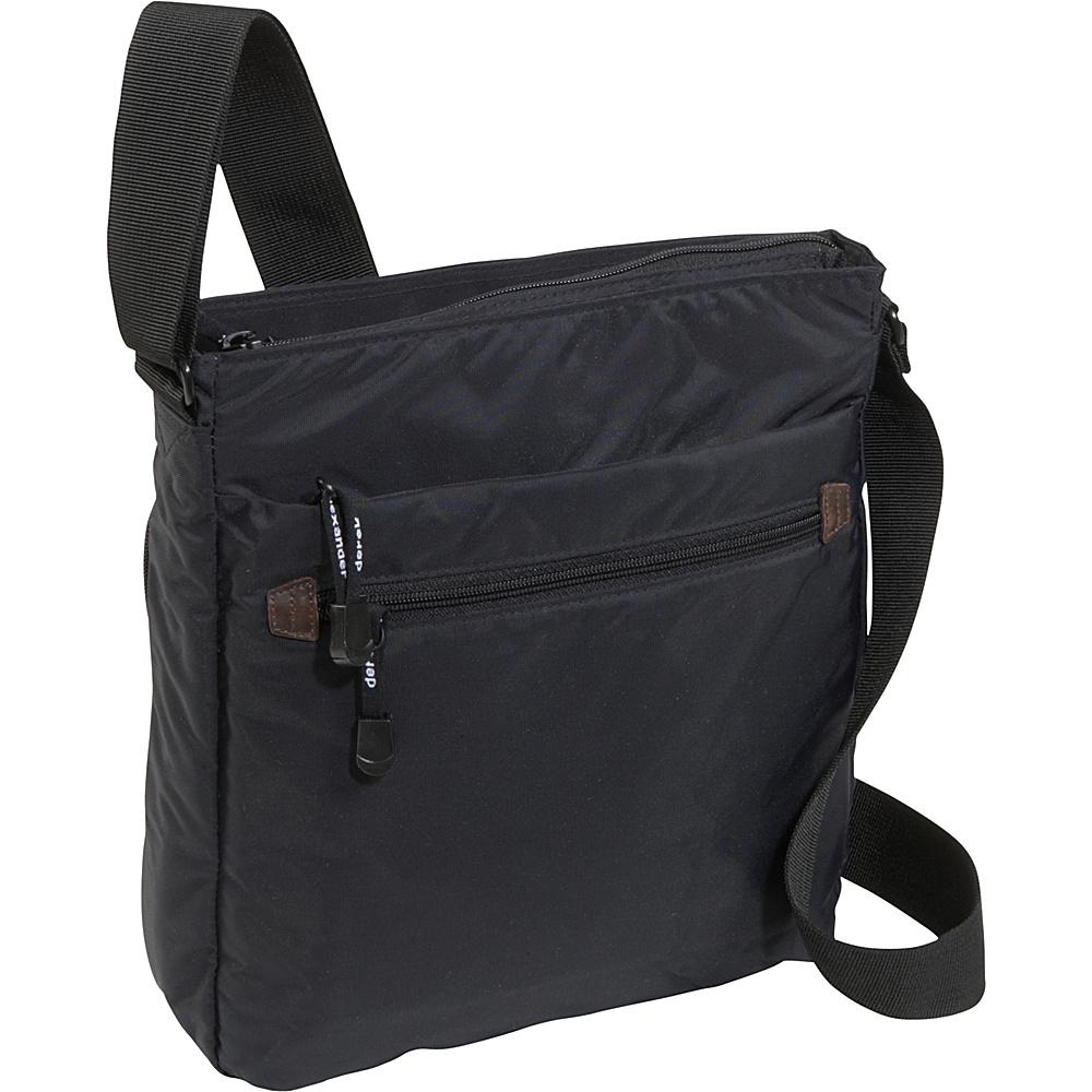 Derek Alexander Top Zip Front Organizer - Cross Body - Handbags, Fabric Handbags