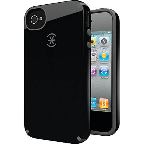 Speck iPhone 4S Candyshell Case - Black/Dark Gray