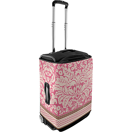 CoverLugg Large Luggage Cover - Pink Flowers - Flowers