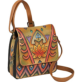 Triple Compartment Crossbody Organizer - Incredible Ikat Incredible Ikat