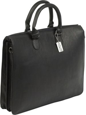ClaireChase Sarita iPad Briefcase Black - ClaireChase Non-Wheeled Business Cases
