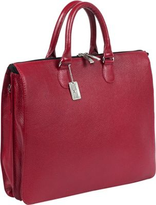 ClaireChase Sarita iPad Briefcase Red - ClaireChase Non-Wheeled Business Cases