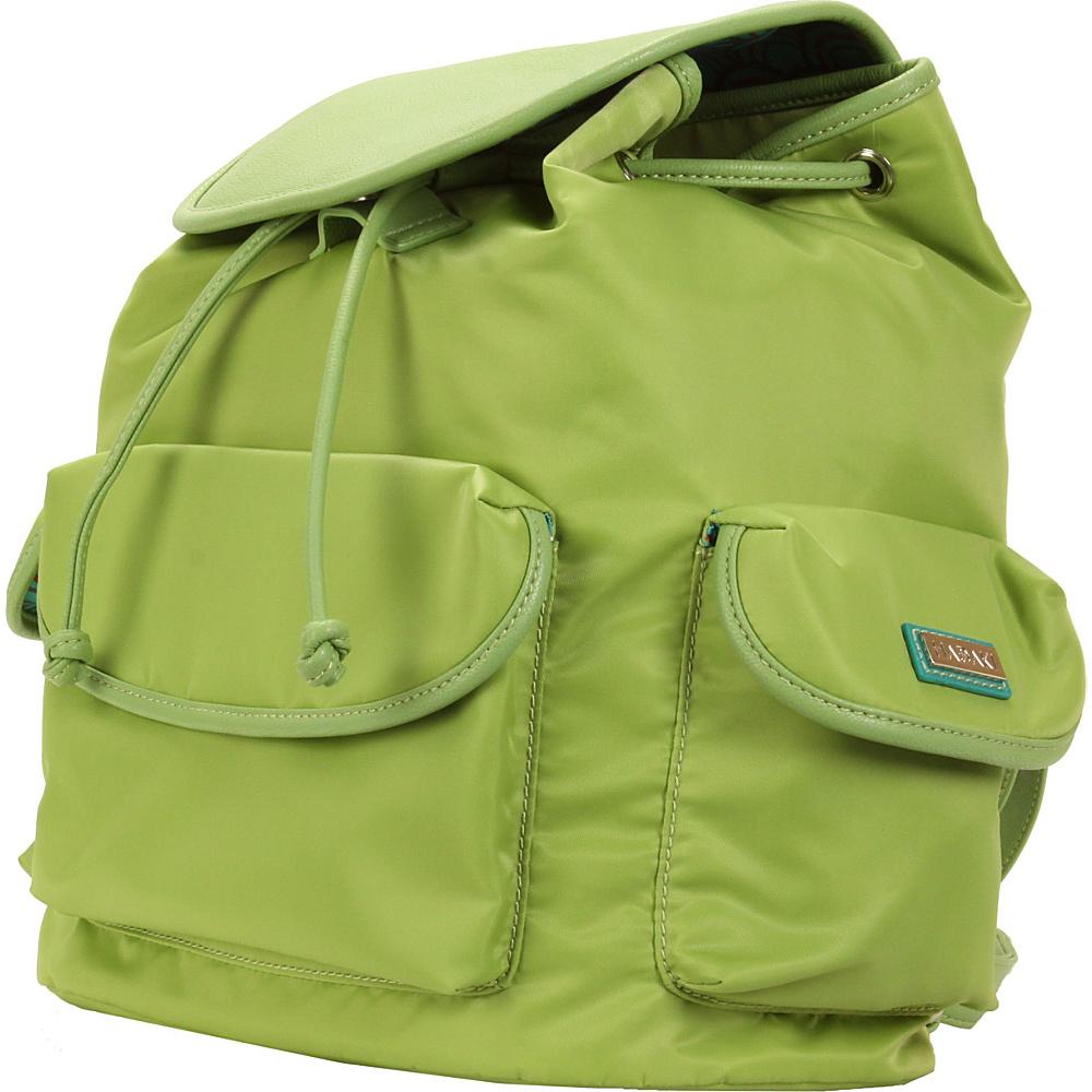 Hadaki Market Pack Piquat Green - Hadaki Manmade Handbags - Handbags, Manmade Handbags