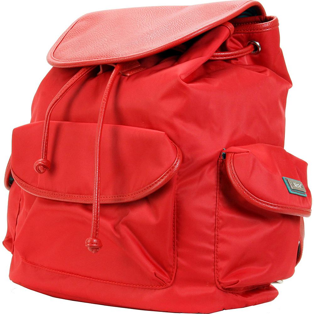 Hadaki Market Pack Tango Red - Hadaki Manmade Handbags - Handbags, Manmade Handbags