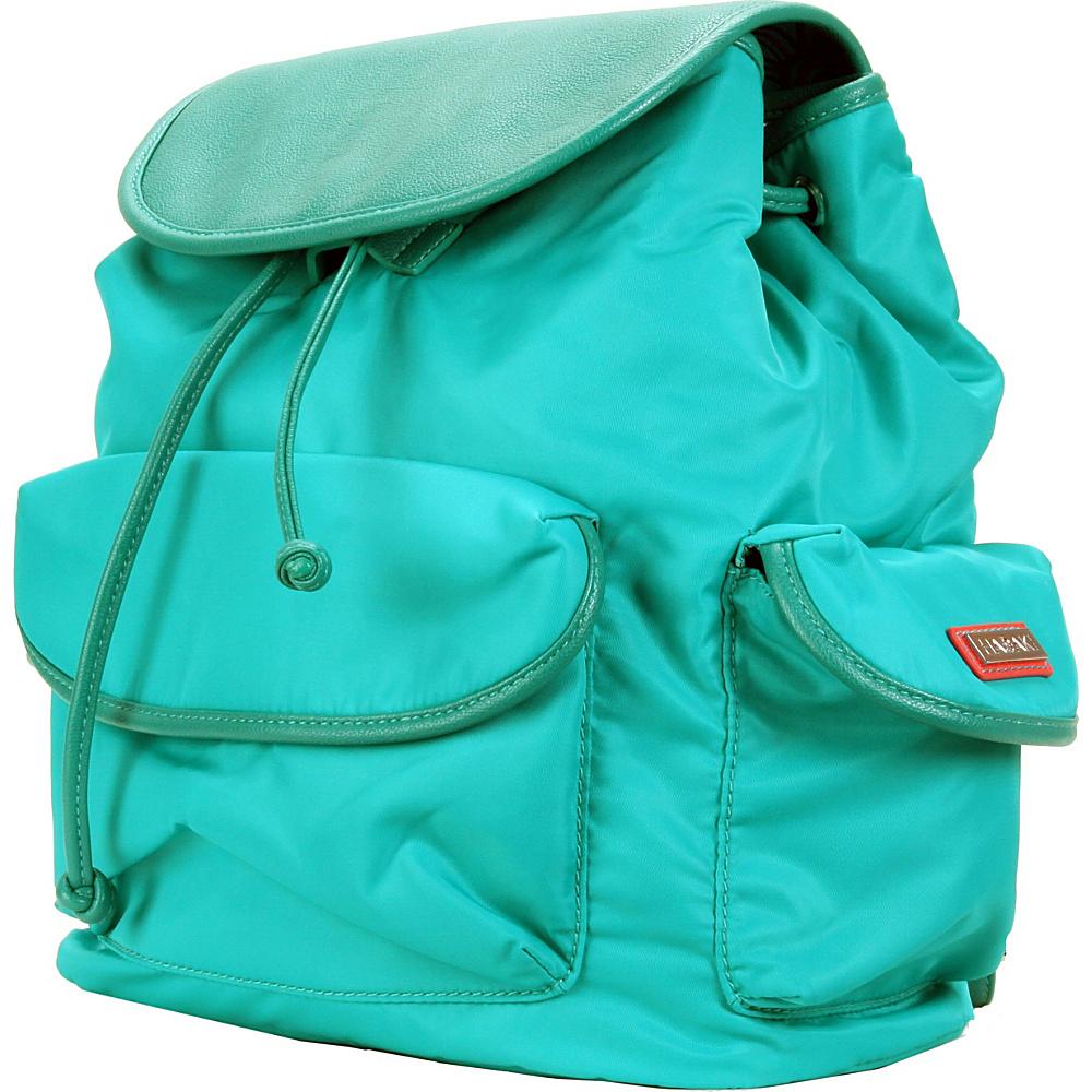 Hadaki Market Pack Viridian Green - Hadaki Manmade Handbags - Handbags, Manmade Handbags