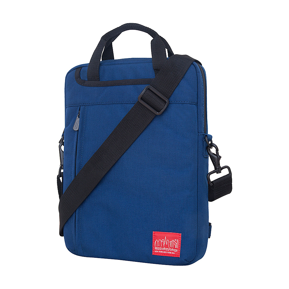 Manhattan Portage Commuter JR Laptop Bag (13) - Navy - Work Bags & Briefcases, Non-Wheeled Business Cases