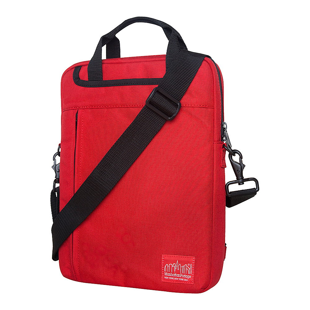 Manhattan Portage Commuter JR Laptop Bag (13) - Red - Work Bags & Briefcases, Non-Wheeled Business Cases