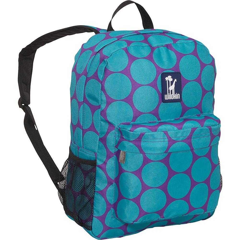 Wildkin Big Dots Aqua Crackerjack Backpack Big Dots Aqua - Wildkin Everyday Backpacks - Backpacks, Everyday Backpacks