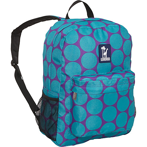Wildkin Big Dots Aqua Crackerjack Backpack Big Dots Aqua - Wildkin Kids' Backpacks