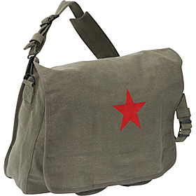 Paratrooper Bag with Star Olive