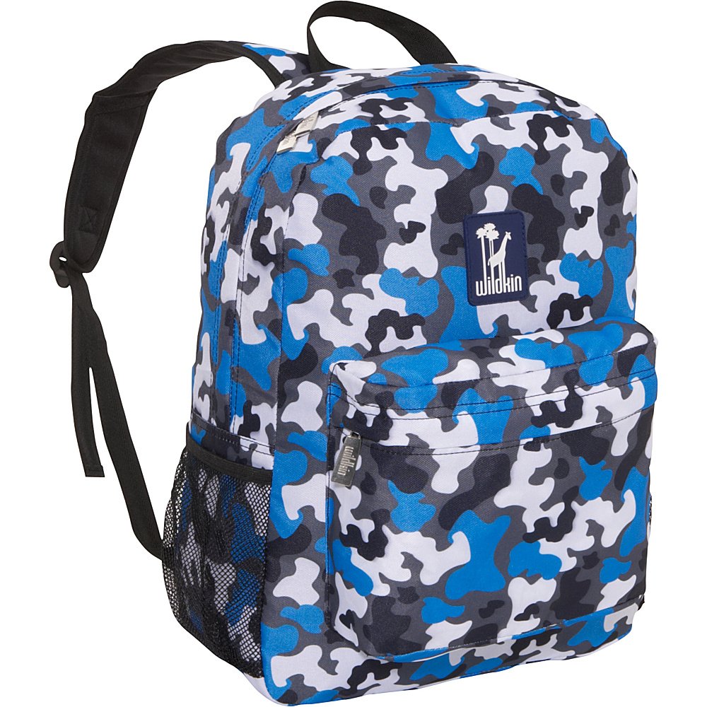 Wildkin Blue Camo 16 Inch Backpack Blue Camo - Wildkin Everyday Backpacks - Backpacks, Everyday Backpacks