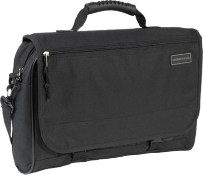 Geoffrey Beene Luggage Geoffrey Beene Luggage Cargo Style Messenger Bag Black - Geoffrey Beene Luggage Messenger Bags