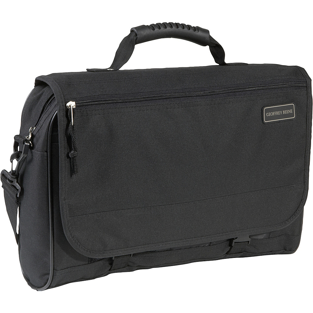 Geoffrey Beene Luggage Cargo Style Messenger Bag Black Geoffrey Beene Luggage Messenger Bags