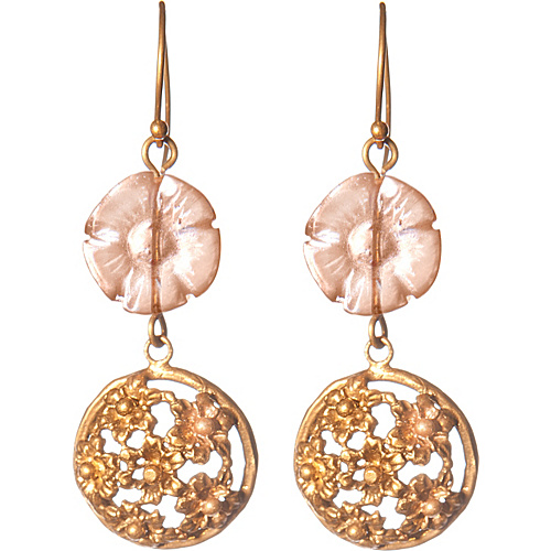 Silvana K Designs Daisy Earrings Gold - Silvana K Designs Jewelry