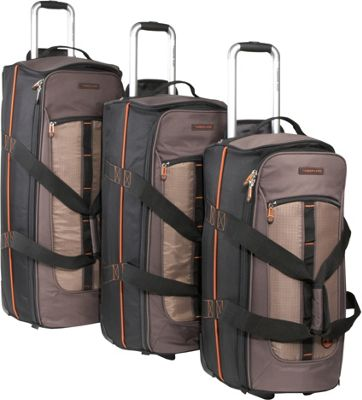 Timberland Jay Peak 3 Piece Set Cocoa - Timberland Luggage Sets