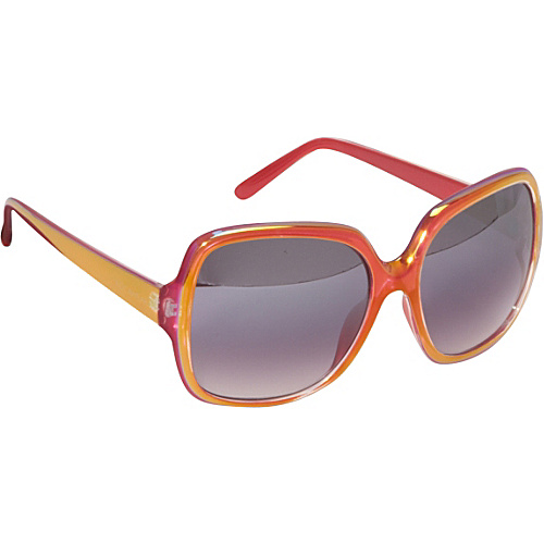 21ed916cdd Rocawear Sunwear Incandescent Oversized Rectangular Sunglasses Red - Rocawear  Sunwear Eyewear (10195805 R3010-ED