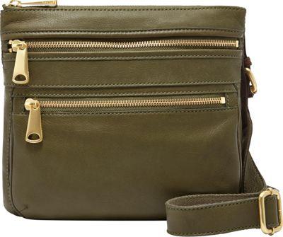 Fossil Explorer Crossbody Fatigue - Fossil Leather Handbags